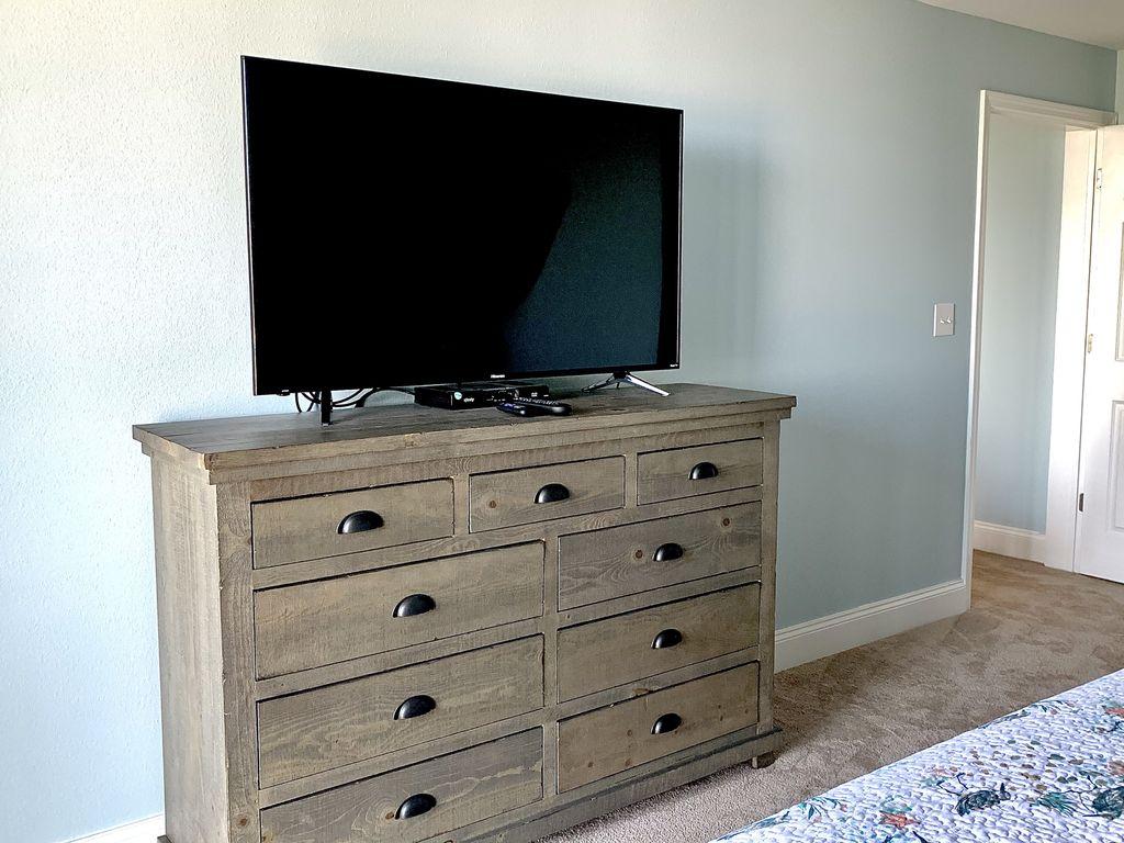 Master bedroom TV.