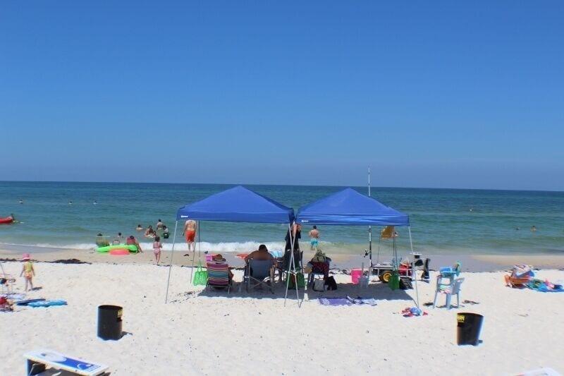 Beach at Barrier Dunes - Fun in the Sun!!!
