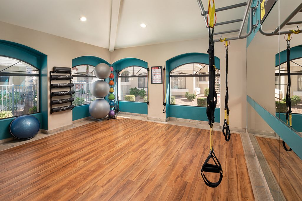 24 hours fitness center with all the equipment.