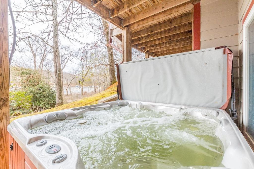 Large Hot Tub!