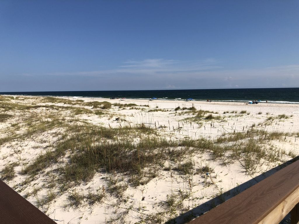 Beach view from the board walk!
