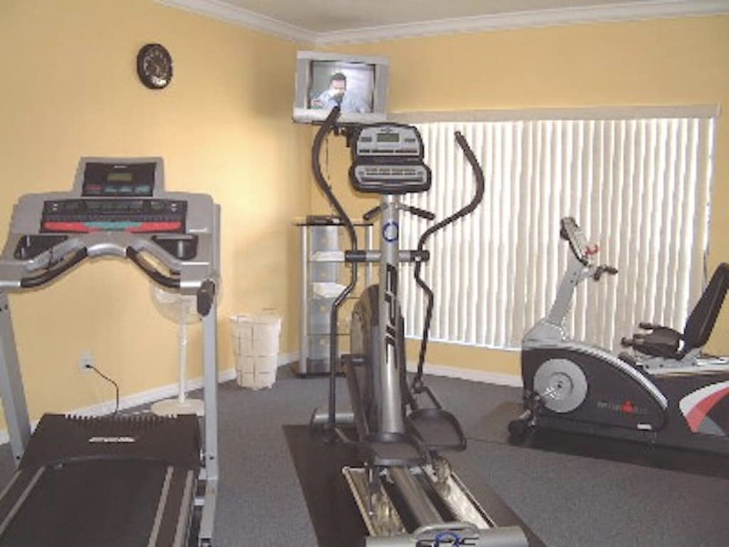 Fitness room in the clubhouse