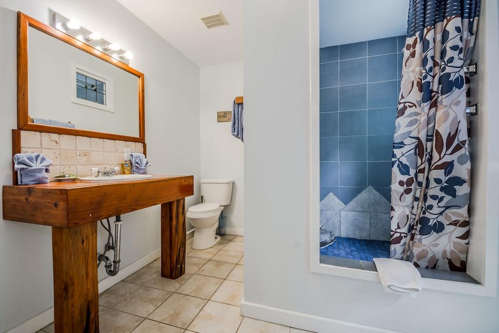 Master Bathroom with Custom Shower