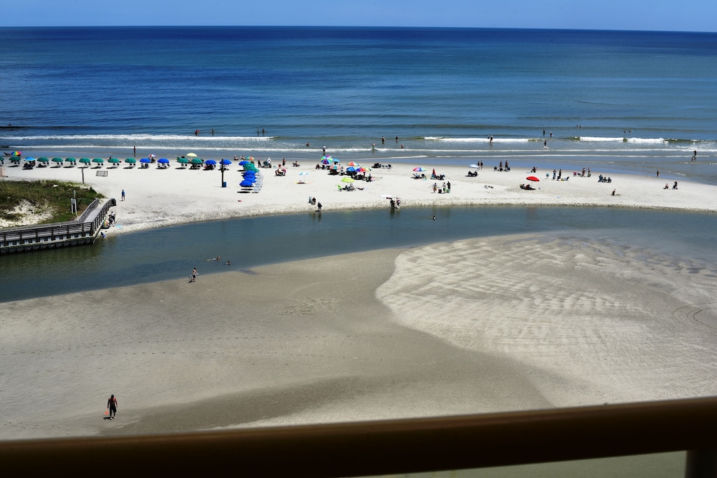 Wow, what a Site from Our Balcony, See, Hear & Enjoy the Relaxing Ocean View.