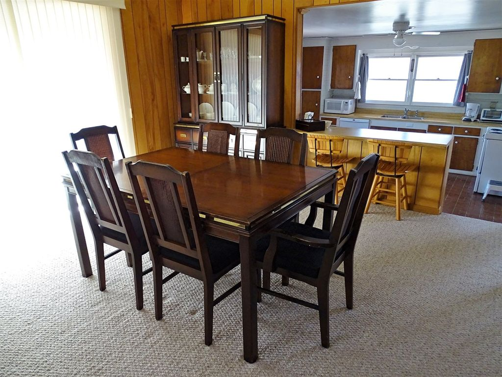 Additional view of dining table with seating for 6