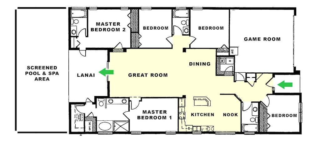 Functional and spacious floorplan.