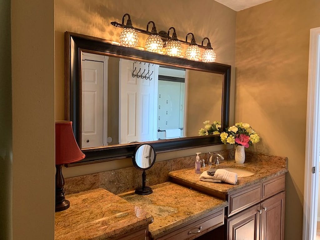 Master Suite Dressing area and Vanity