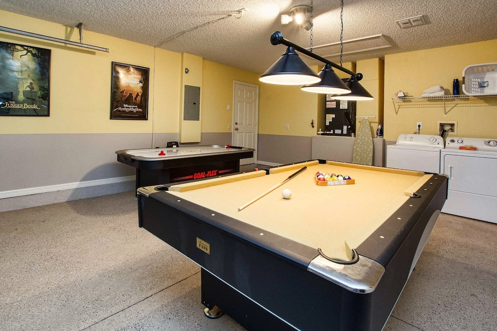 And a pool table!