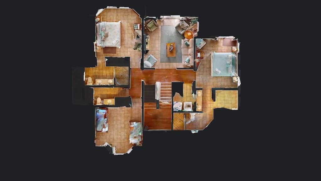 Overview of 2nd floor
