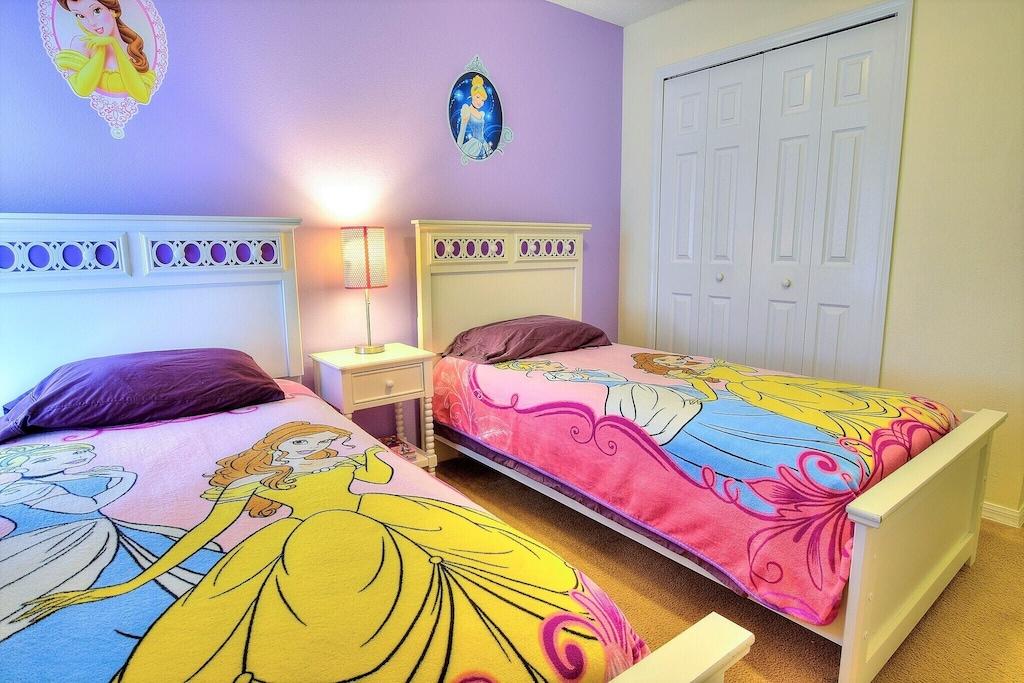 The princess kids room.