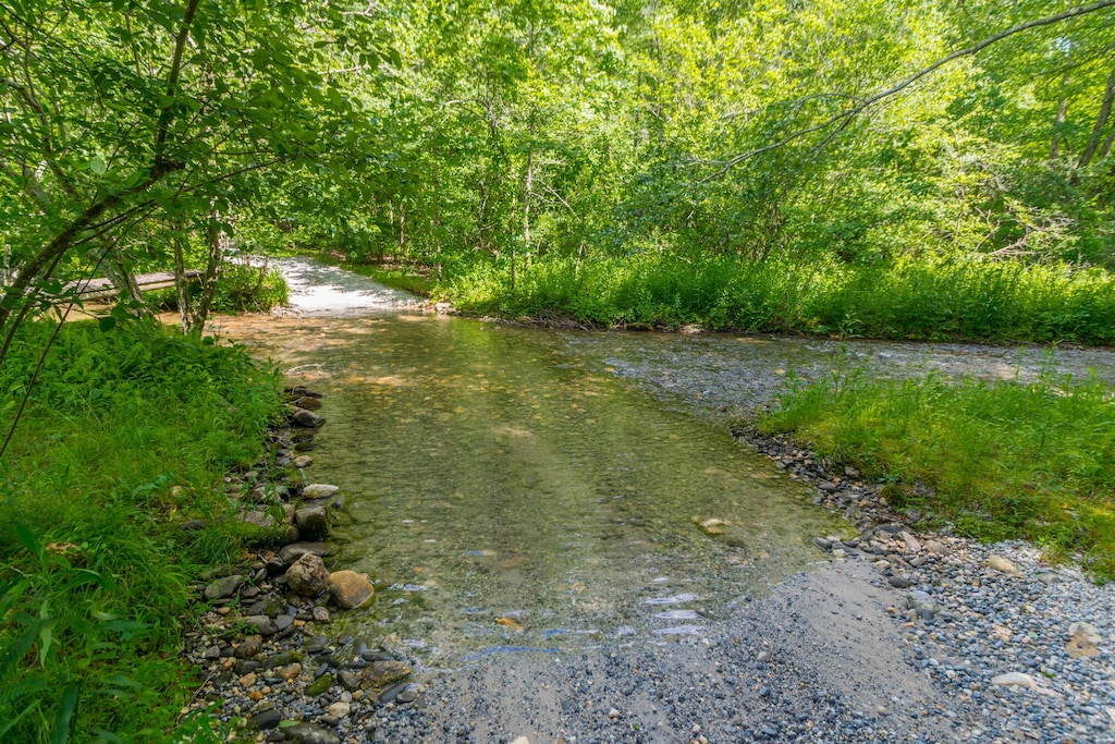 Creek to Cross Going to Cabin