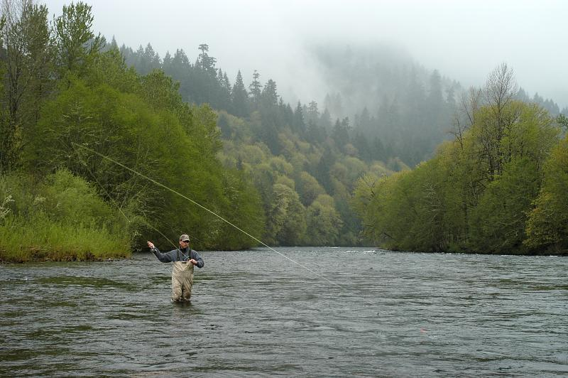 Fly fishing on the McKenzie is World Famous!!