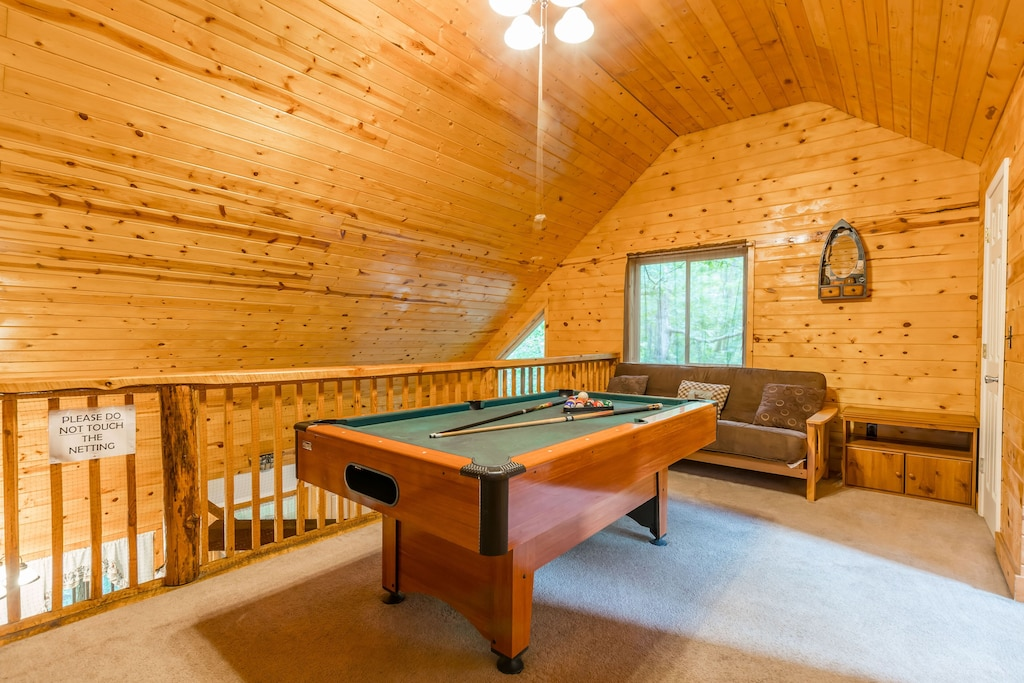 Pool Table and Futon