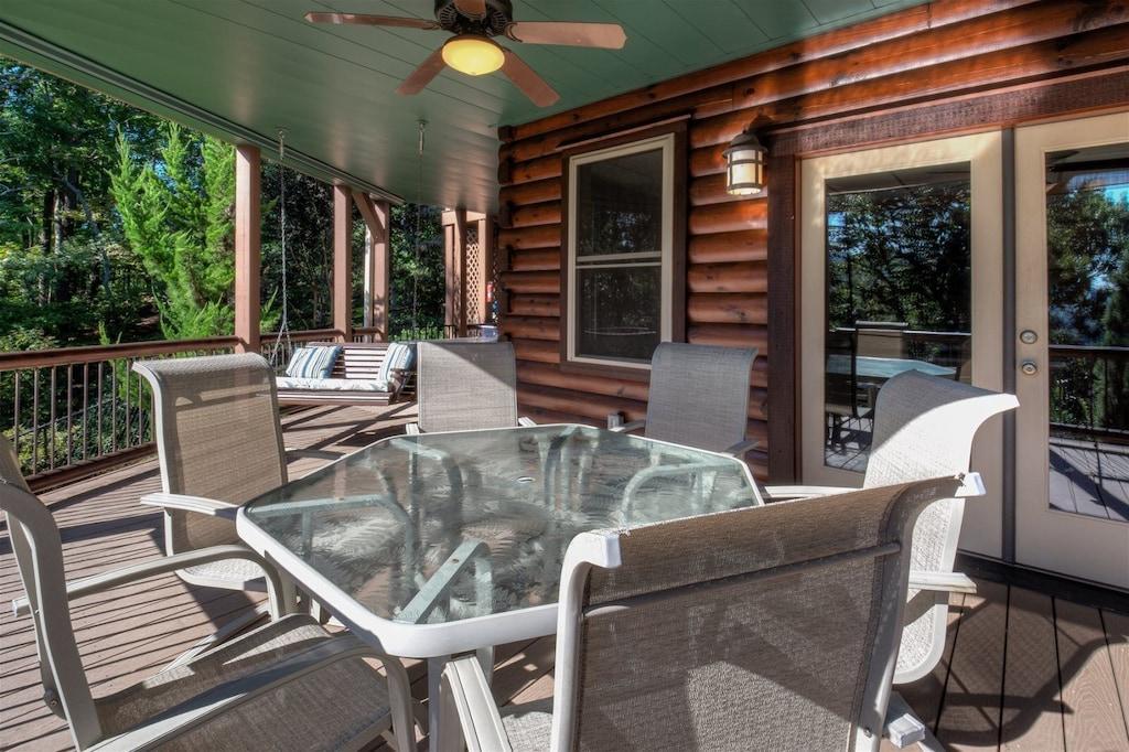 Ample seating on decks