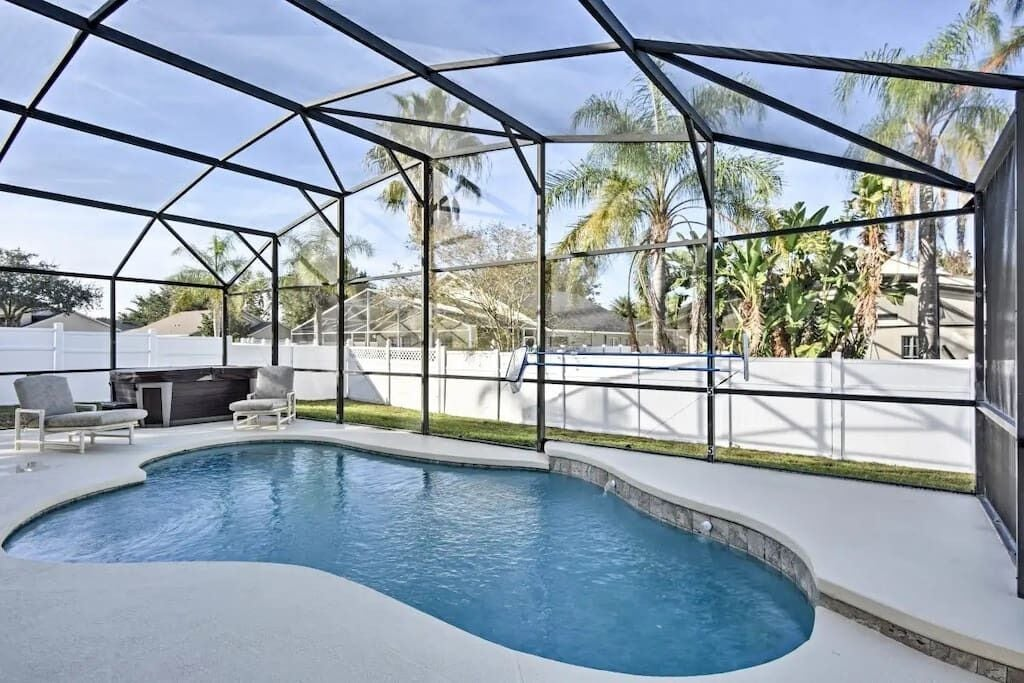 Swimming pool, Deck and Lanai (Optional Pool Heating)