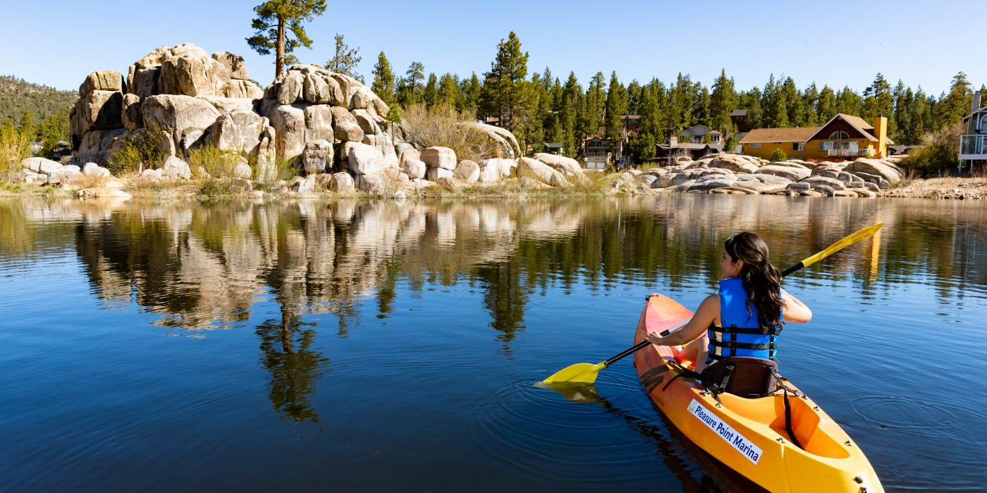 Enjoy Big Bear Lake with amazing watersports and activities.