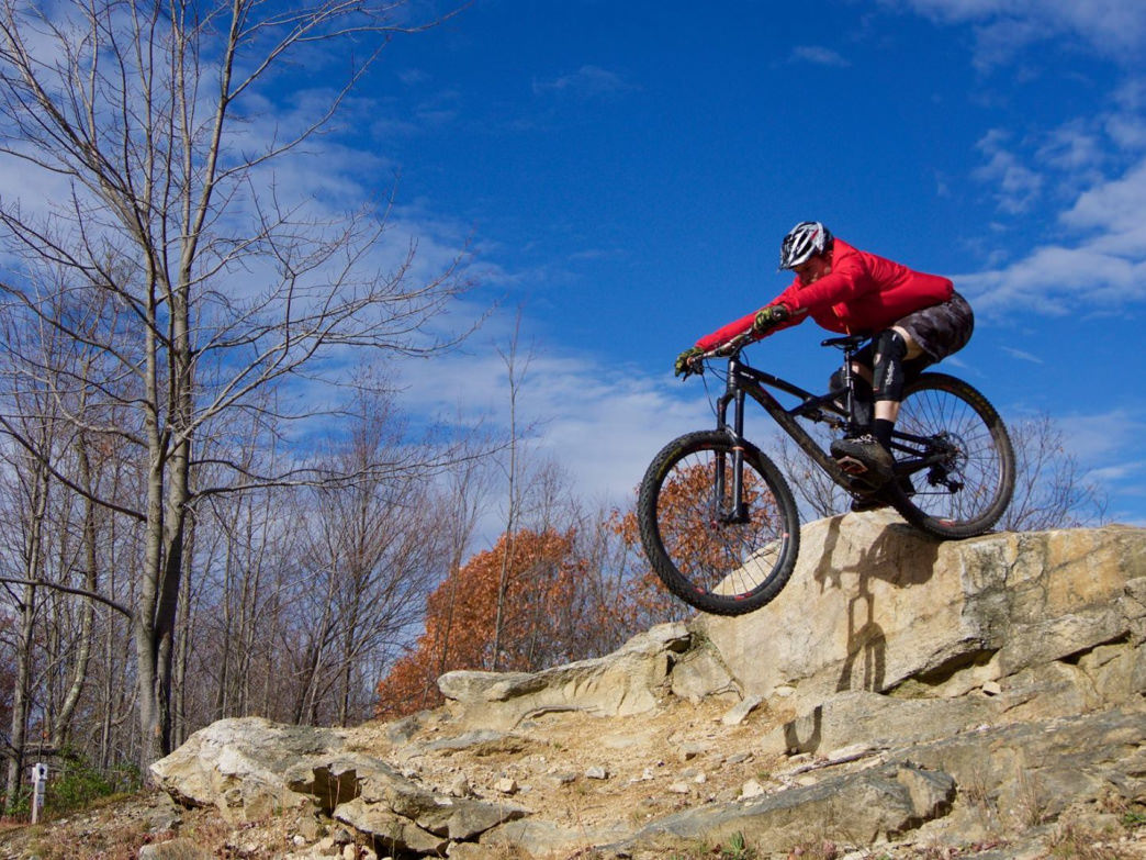 What to do when the snow melts? Enjoy the amazing bike trails all over.