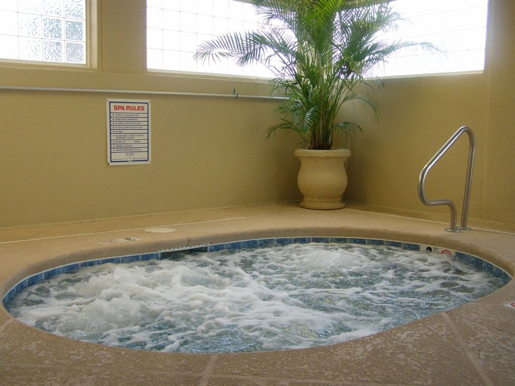 Heated jacuzzi