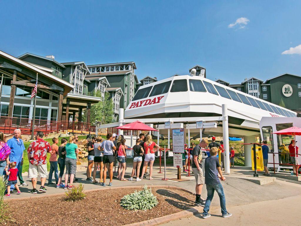 Payday Lift at Park City Mountain Resort