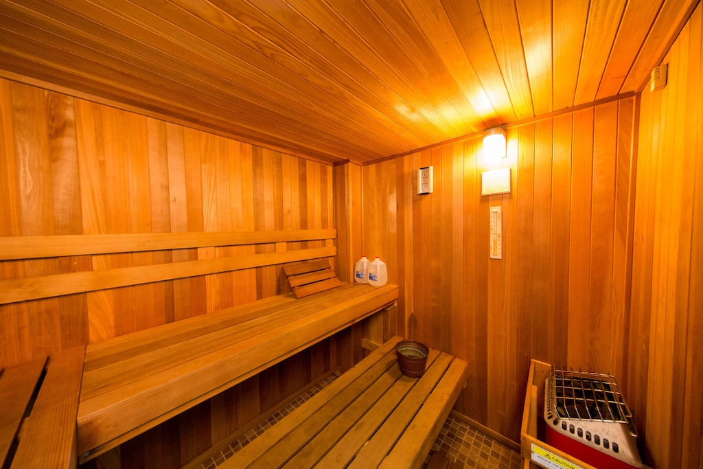 Yes sir! That's a sauna for deep relaxation.
