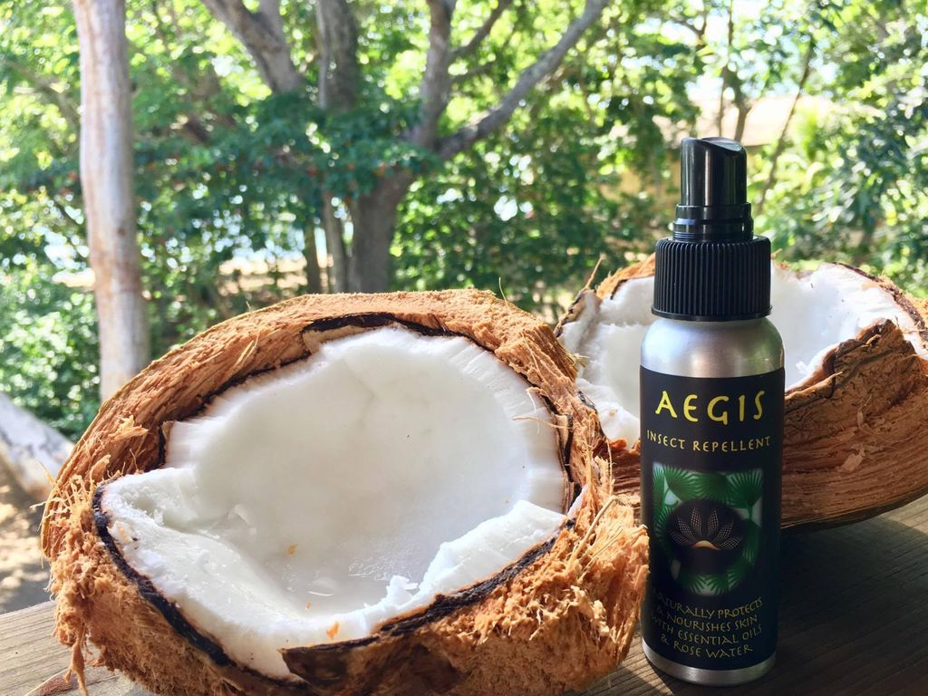 Our favorite local and reef friendly insect repellant.