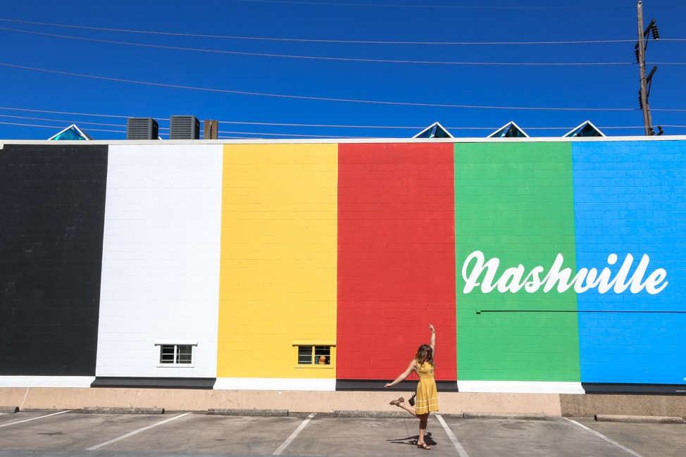 """100 yards from one of Nashville's most """"lnstagrammable"""" photo opps!"""
