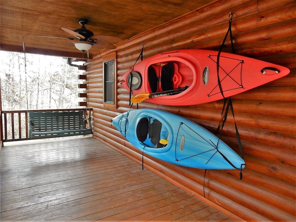 Kayaks to use