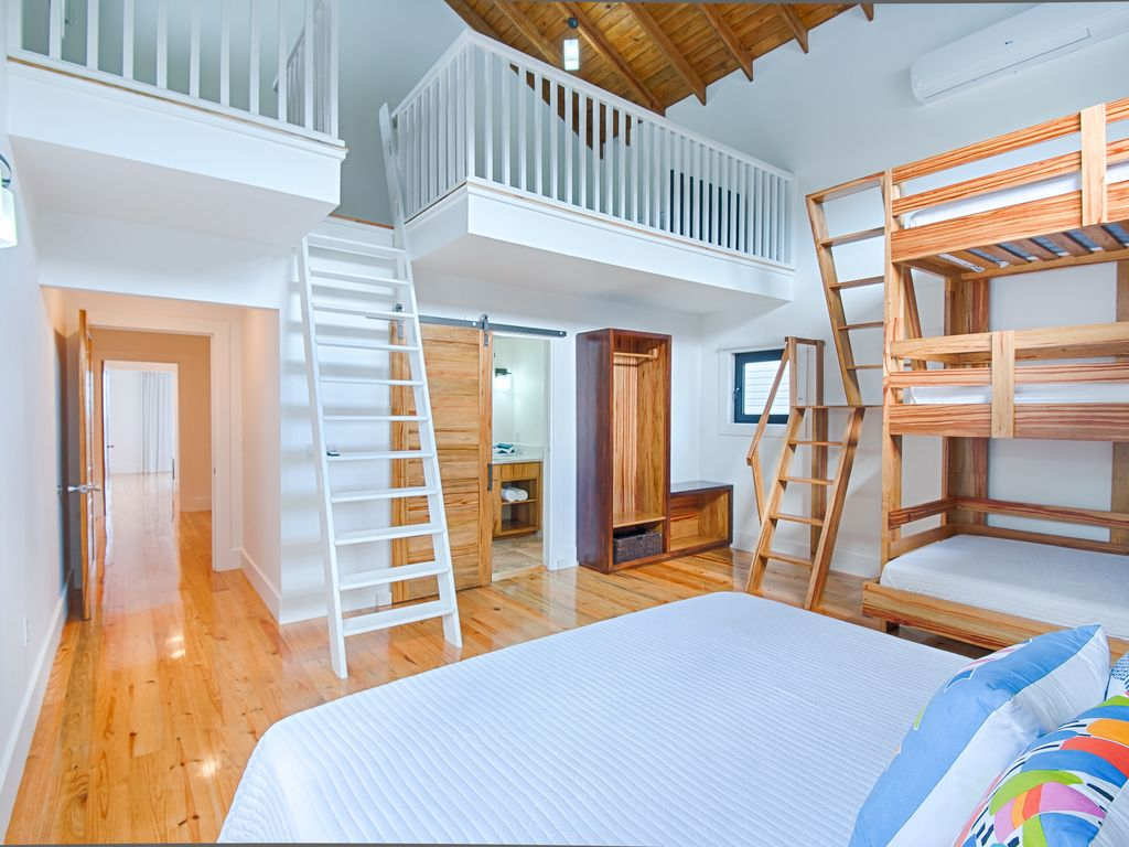 Lofted Room with King Bed