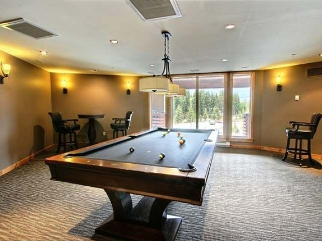 Billiards room for your entertainment.