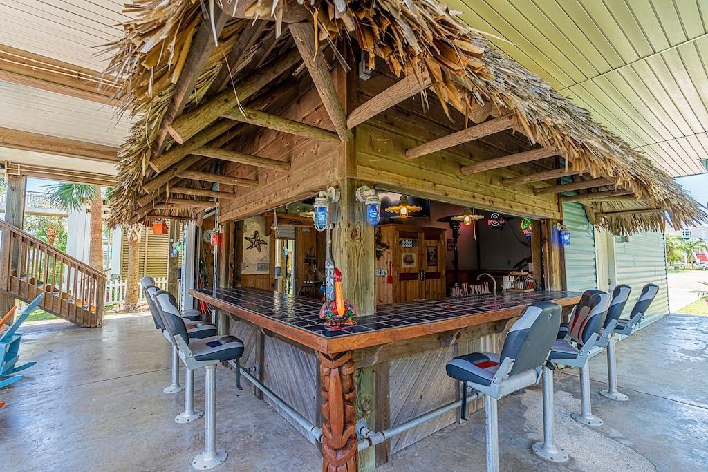 Make lasting memories at the tiki bar