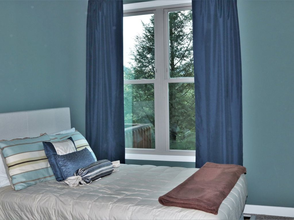 Bedroom with outside view
