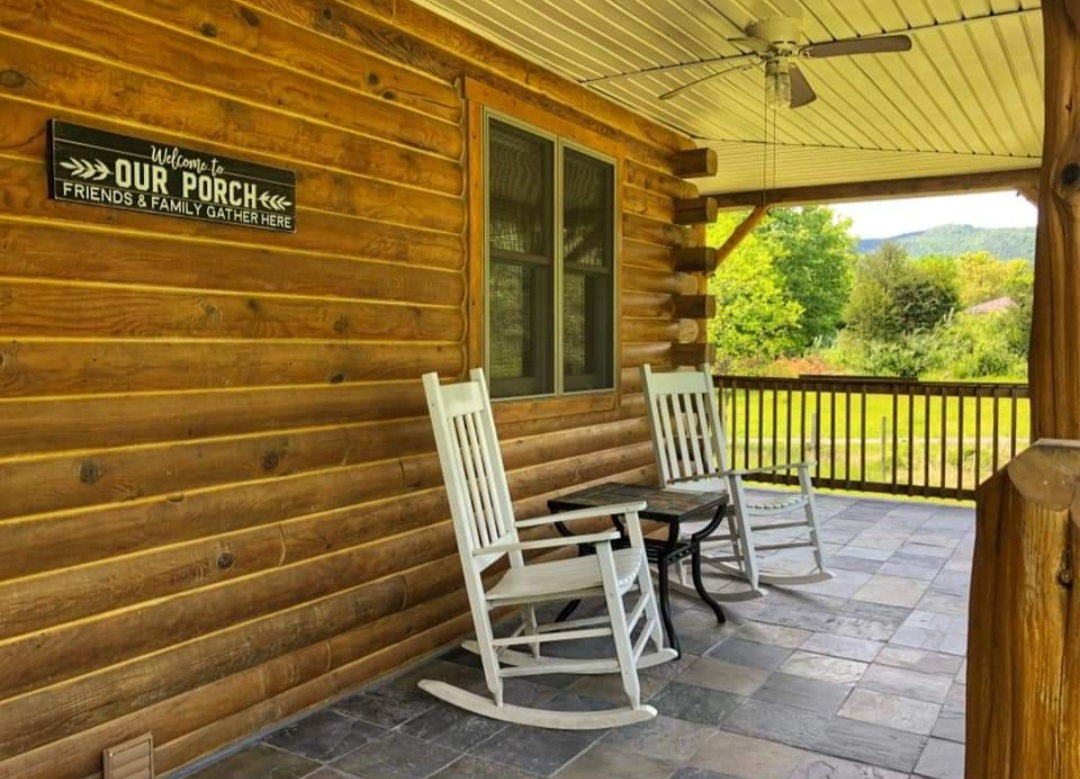 Wrap around porch!