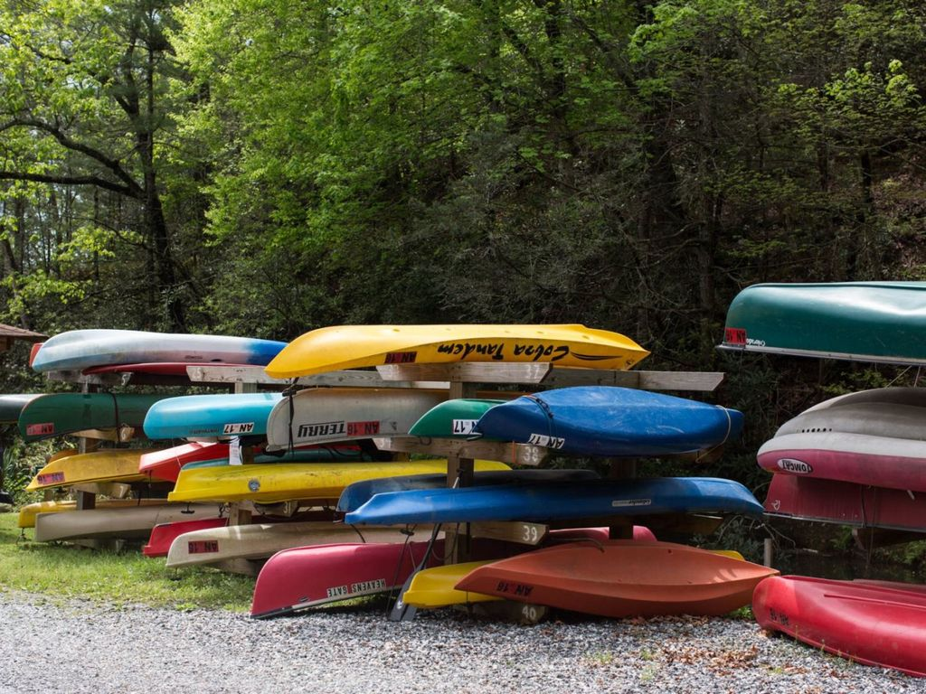 Lake Life Living Offers A Canoe for Guest Use