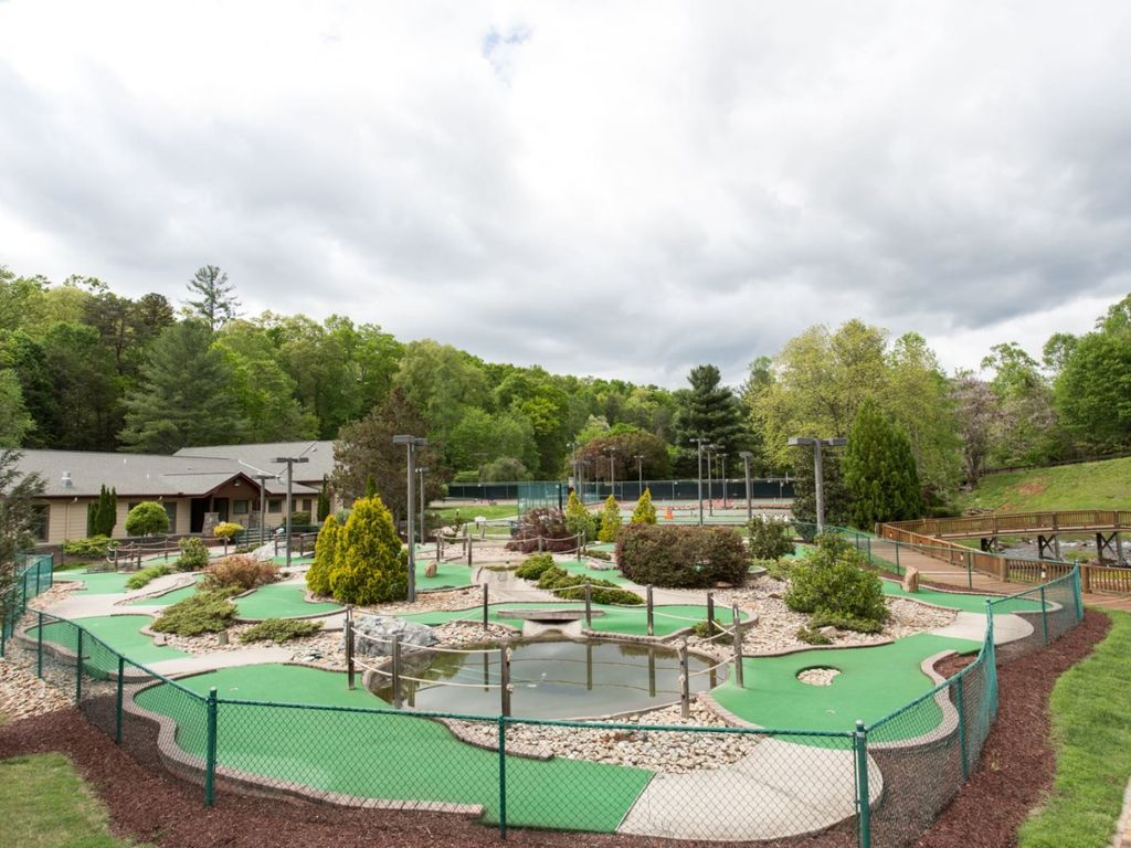 The putt-putt course is fun for all ages
