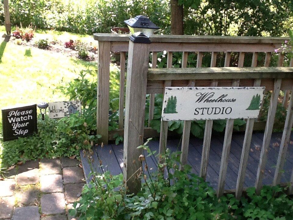 Pathway to the Studio.