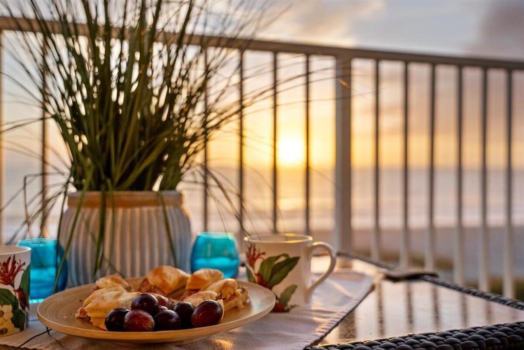 Sun Up on the Balcony