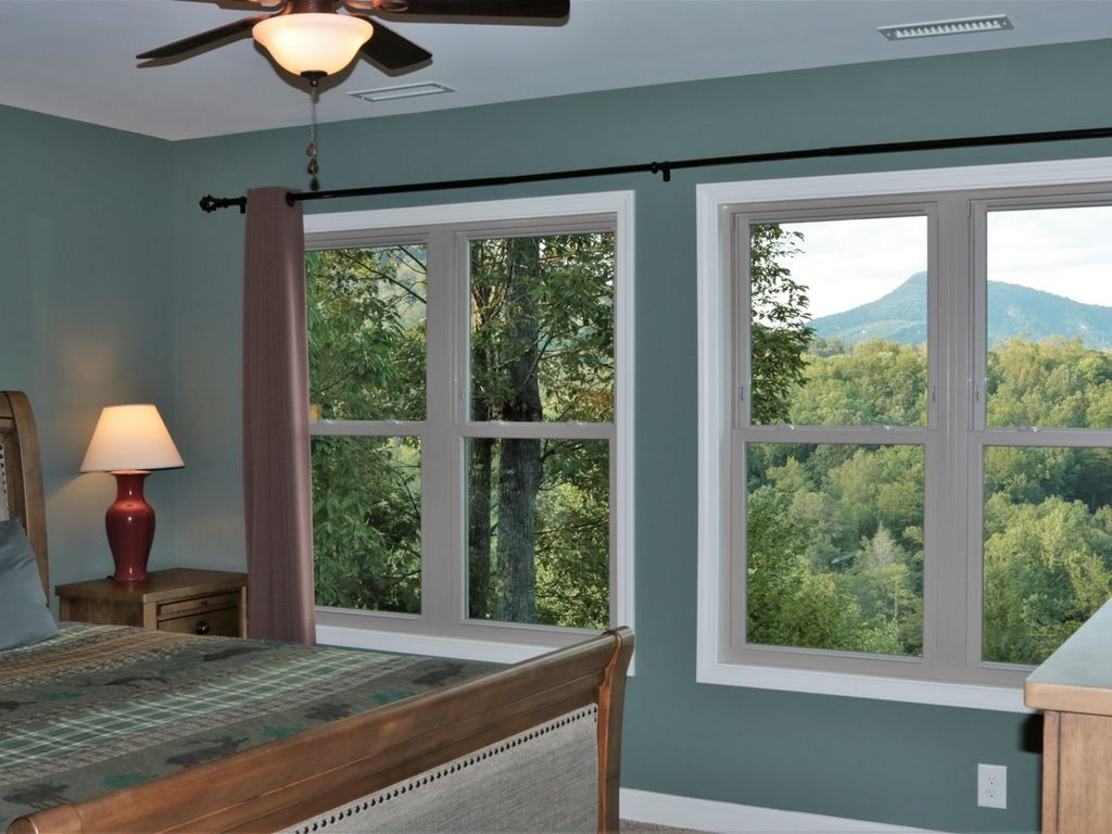 Additional view of mountain view from bedroom