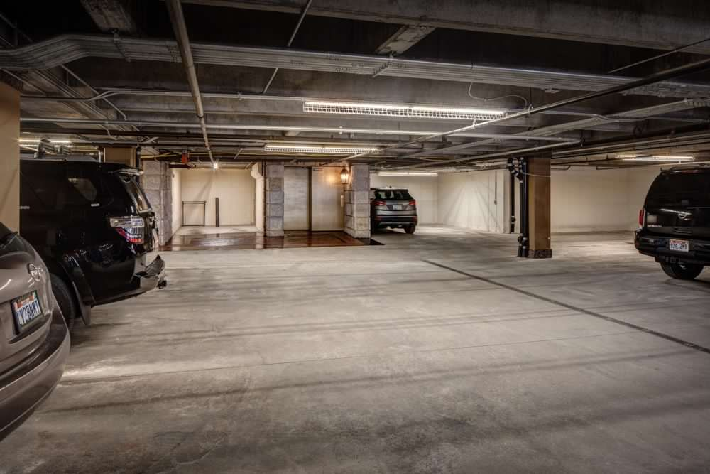 Private Covered Parking Garage