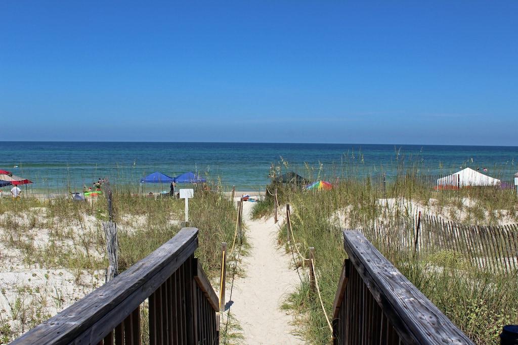 Walkover to beach!!!