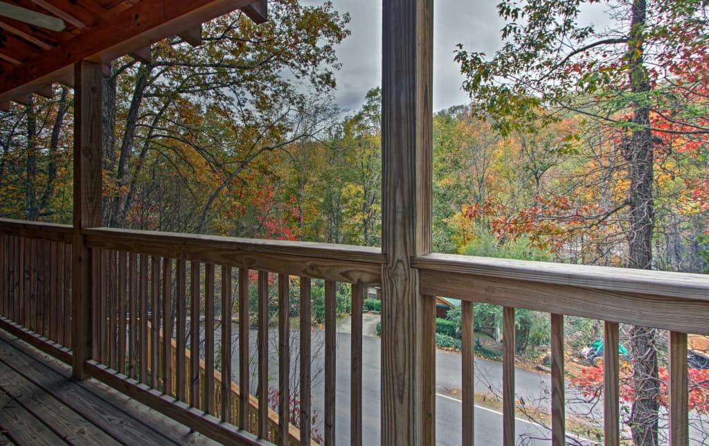 View off upper deck