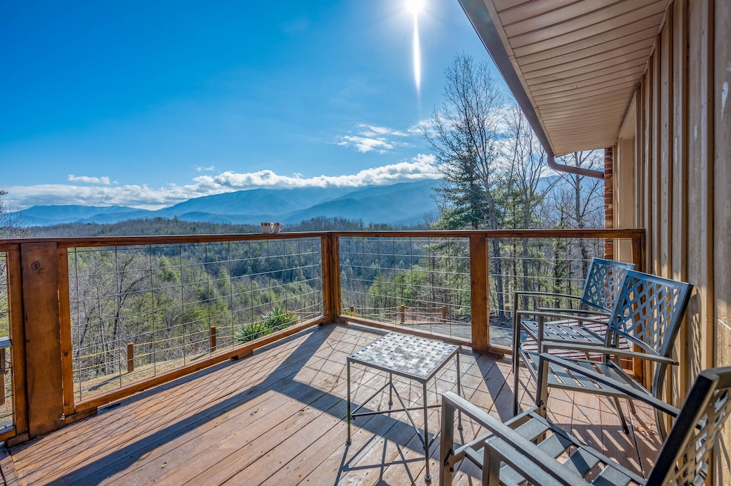 Happy Trails - Open Deck With More Views