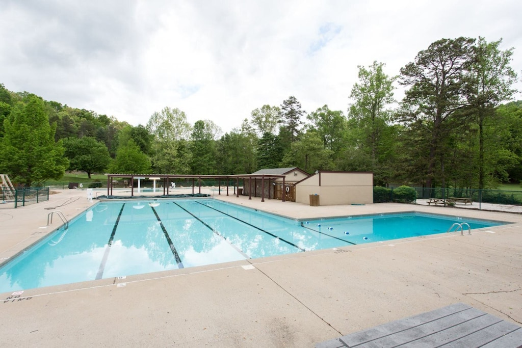 Another place to swim with lap pool area for exercising.