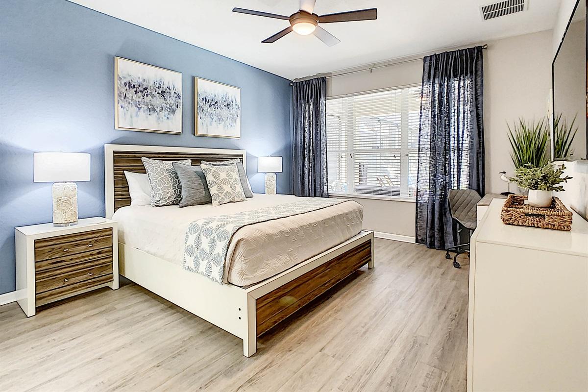Master Suite #1-1st Floor-King Bed