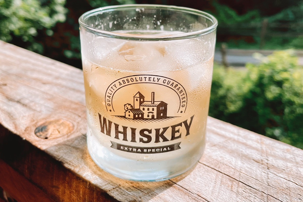 Bring your favorite whiskey and enjoy a cocktail!
