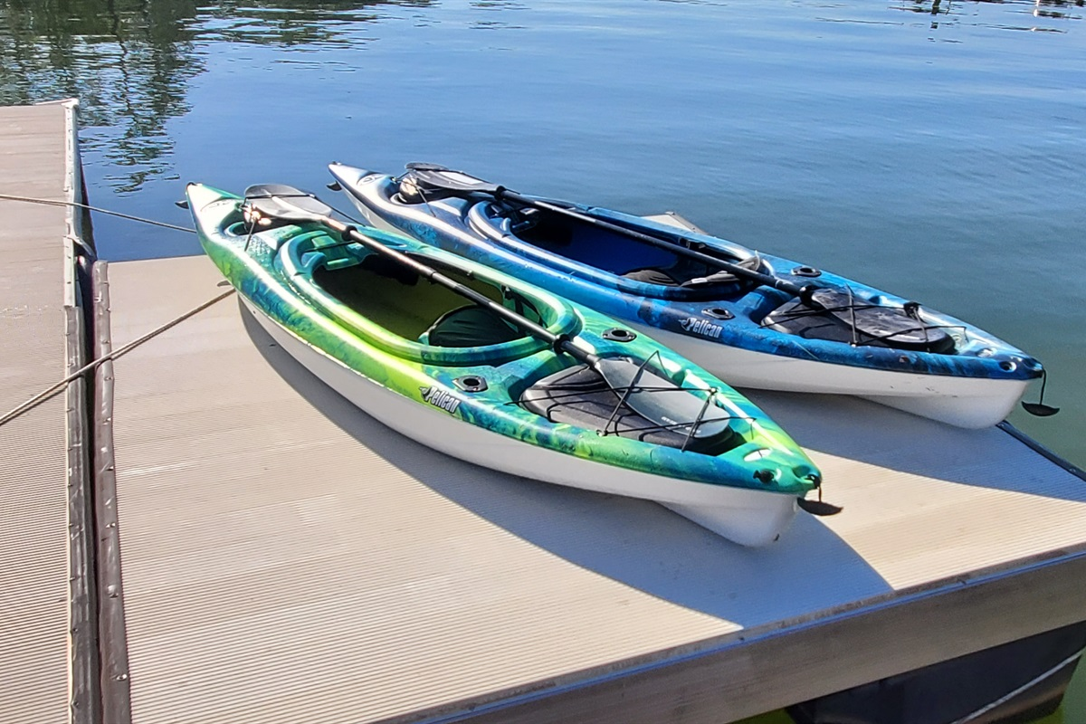 Kayaks-please use responsibly.