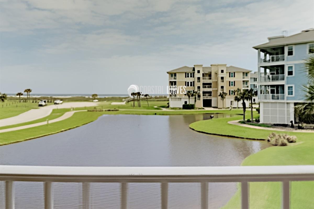 Lake and Gulf Views