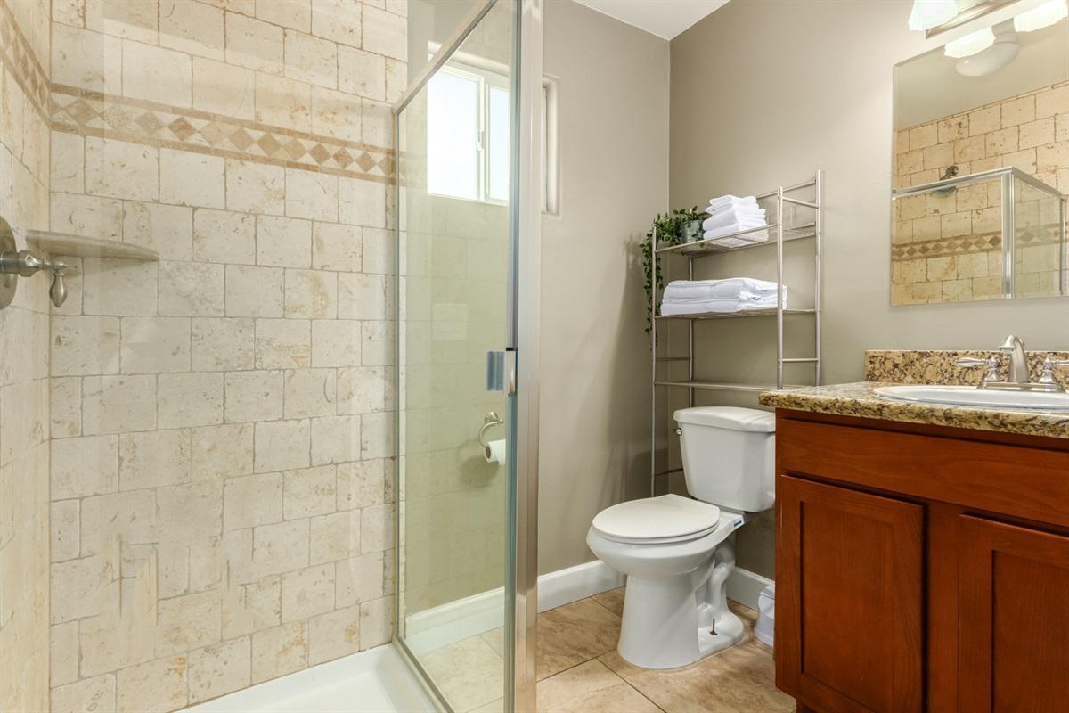 bathroom off game room
