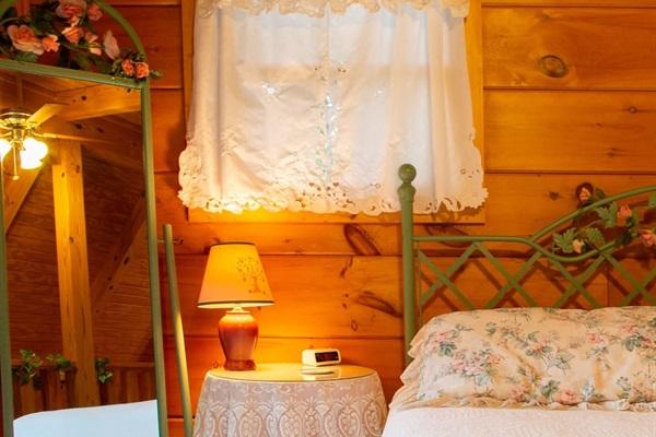 upstairs bedroom area