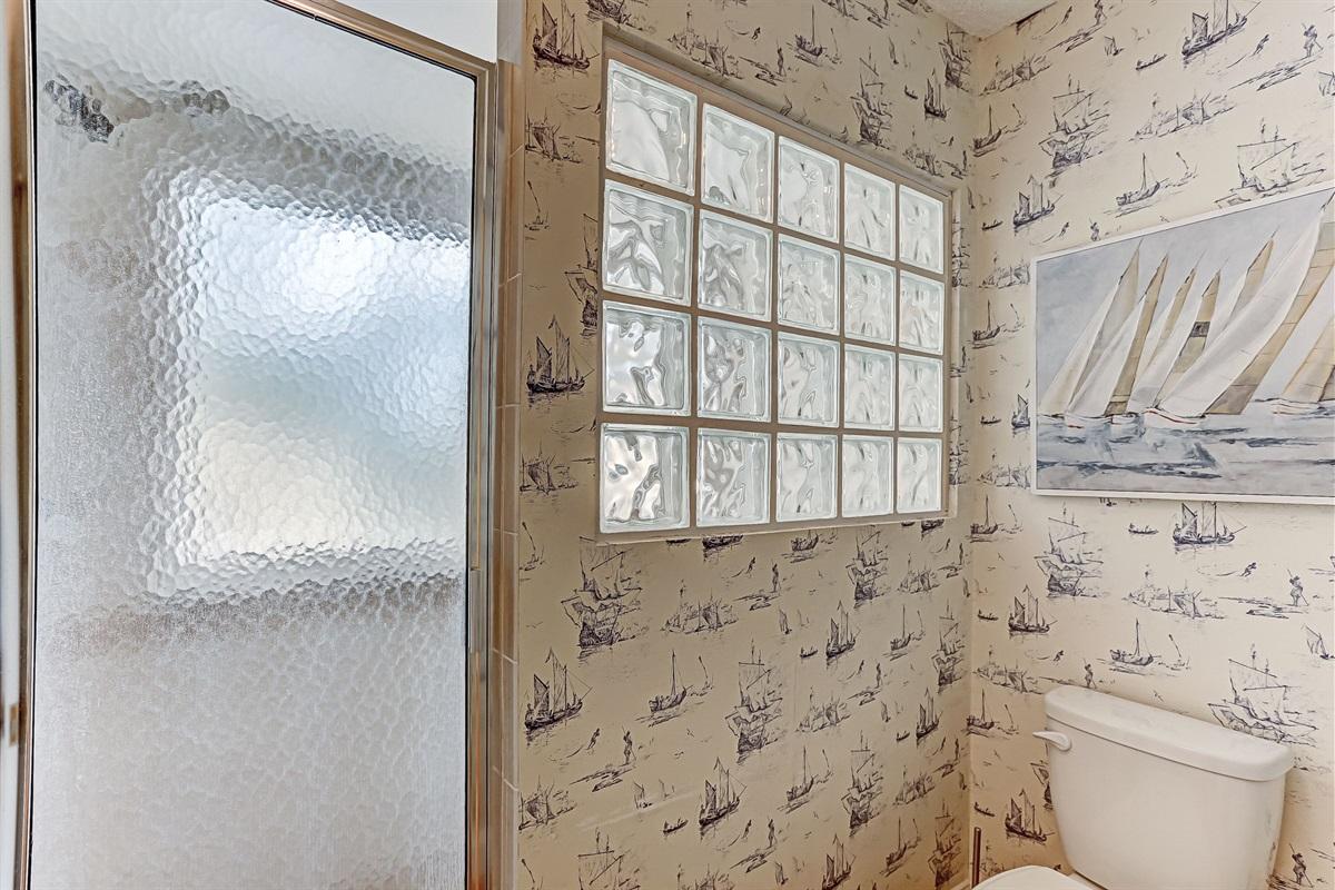 Bright Natural Light in Bathroom