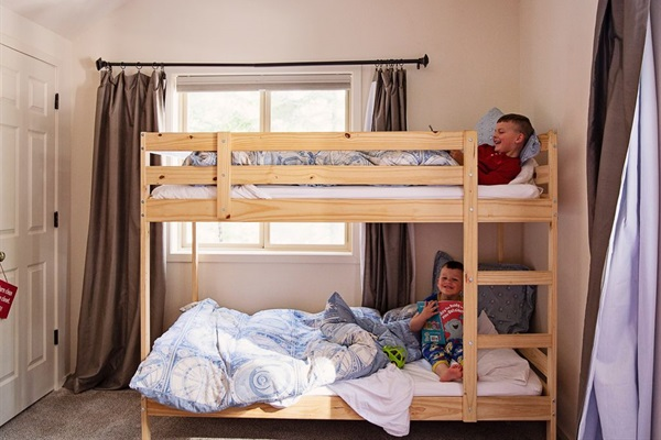 Bedroom #1 bunks - just for kids!